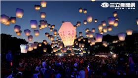平溪天燈。(圖/新北市觀光局提供)