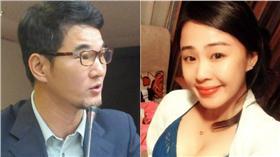 組圖/翻攝自劉建國(左)、李婉鈺(右)臉書