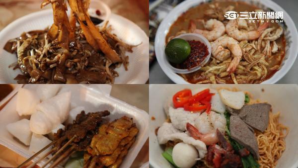 馬來西亞古晉美食。(圖/記者簡佑庭攝影)