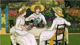 名家/煎蛋 19世紀女人喝茶過多會被送精神病院