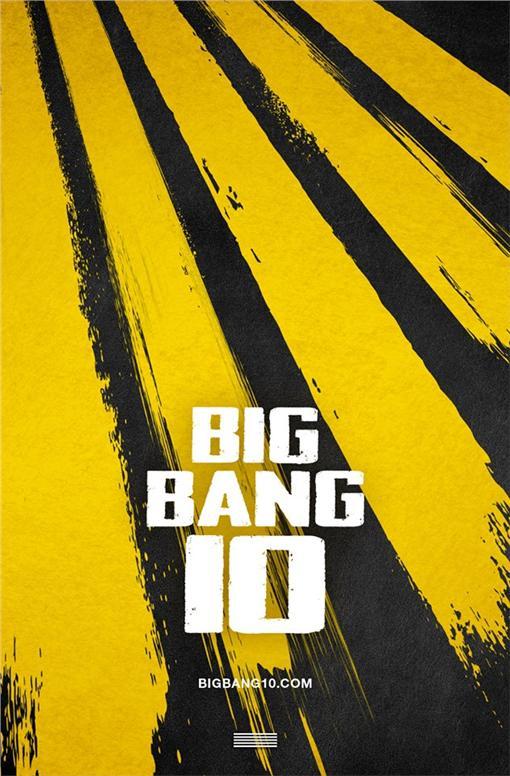 BIGBANG十周年企畫活動海報 翻攝自YOUTUBE