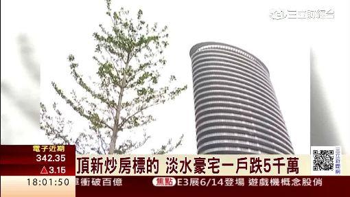 頂新炒房標的 淡水豪宅一戶跌5千萬