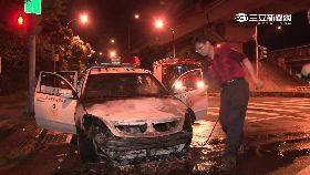 警車突燒毀0600