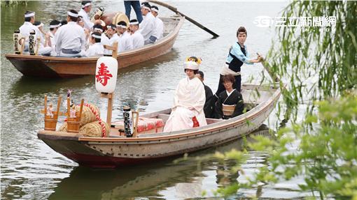 日本茨城水鄉潮來菖蒲花祭。(圖/茨城縣提供)