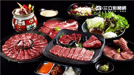 原燒春夏新菜「燒肉界三強」。(圖/原燒提供)