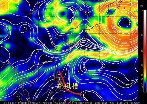 鄭明典預測颱風會晚到 (圖/翻攝自鄭明典臉書)