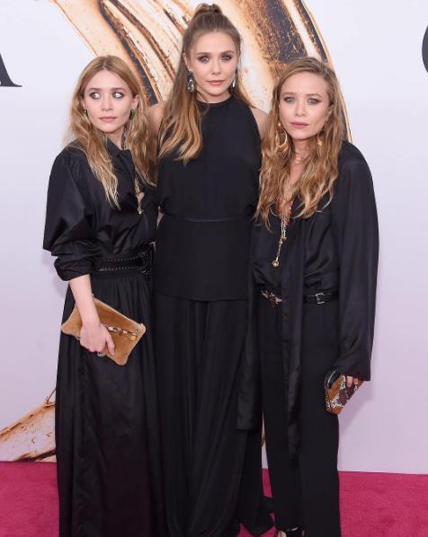 CFDA Fashion Awards 圖/elizabetholsenig Instagram