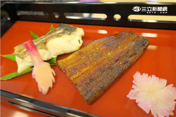 鰻魚料理。(圖/記者簡佑庭攝影)