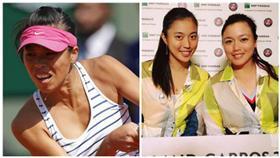 ▲詹家姐妹、謝淑薇入列網球奧運入圍名單。(圖/翻攝自臉書;美聯社/達志影像)