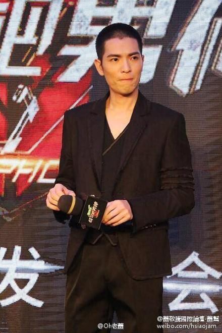 蕭敬騰加盟江蘇衛視《戰鬥吧男神》/微博