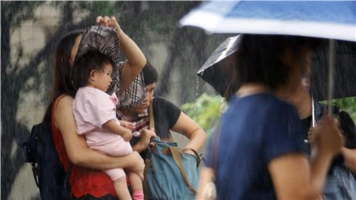 下雨/中央社