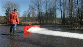 瑞典NOAQ BOXWALL活動式防洪板 水災 洪水 豪雨 桃園機場