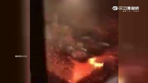 """燒烤吃到""""發爐""""爆炸 客人驚聲尖叫逃"""