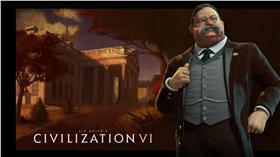 文明帝國6 2K Firaxis Games 策略遊戲 西奧多羅斯福