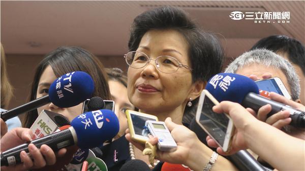 陸委會主委張小月。記者盧素梅攝