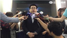 ▲市府發言人林鶴明回應大巨蛋(圖/記者盧冠妃攝)