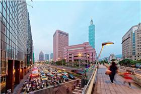 世貿,展覽,101,台北,夜景,信義區(圖/shutterstock/達志影像)