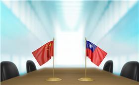 兩岸,國際,中國,大陸,台灣,中華民國,國旗(圖/shutterstock/達志影像)