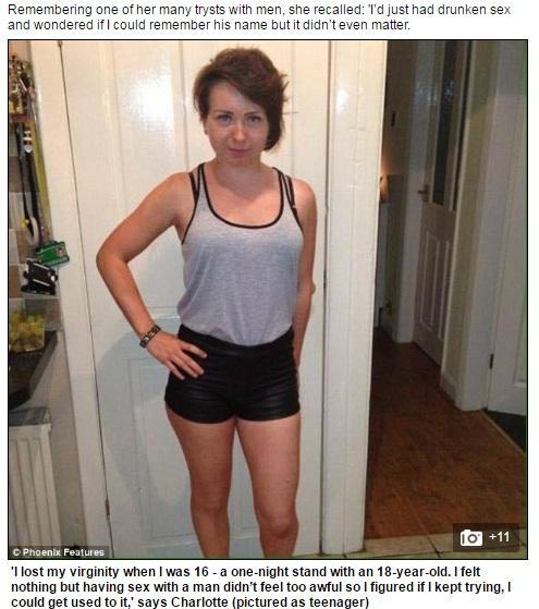 同志,Charlotte Malley,刺青,自殘,同性戀圖/翻攝自Daily Mail