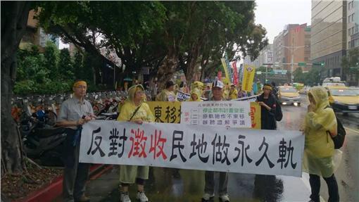 南鐵東移、台南市區鐵路地下化計畫(圖/翻攝自反台南鐵路東移臉書)