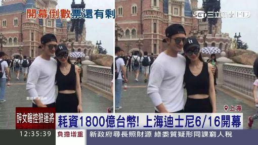 """上海迪士尼明開幕! 陸網友:""""人傻錢多就去"""""""