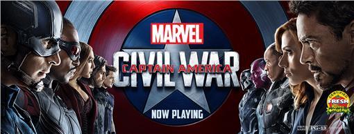 美國隊長英雄內戰/翻攝自Captain America fb