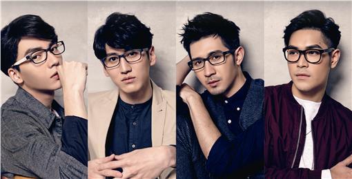 4ever眼鏡代言/周子娛樂提供