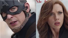 美國隊長 黑寡婦 /翻攝自Captain America臉書