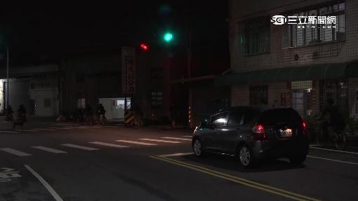 昏暗彎道車速快 「閃黃燈」十字路口易肇事