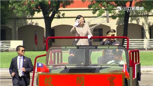 陸軍官校「愛國天氣」,蔡英文,閱兵