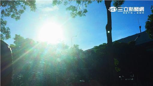 高溫 太陽 熱\李慈音攝