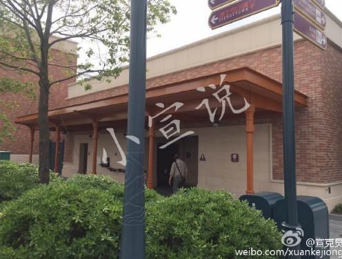 上海迪士尼尿尿/微博