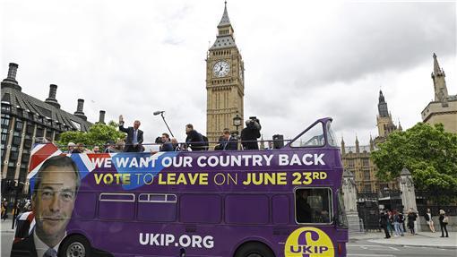 英國、脫歐、歐盟、公投、倫敦(圖/路透社/達志影像)