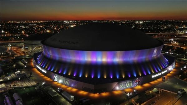 The Mercedes-Benz Superdome。(圖/翻攝自網路)