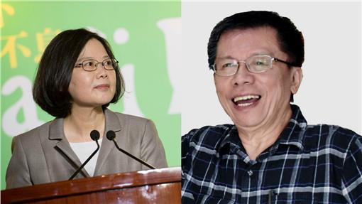 蔡英文,沈富雄 圖/翻攝自蔡英文、沈富雄臉書