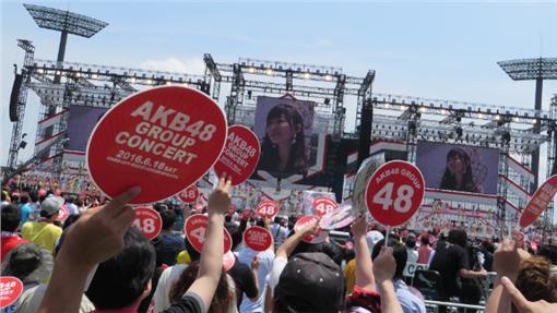 ▲AKB48選舉活動現場(圖/翻攝自指原莉乃推特)