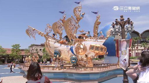 迪士尼海洋15歲! 米奇.米妮穿新衣表演