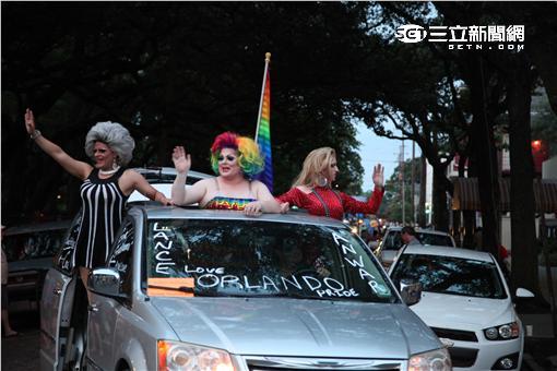 2016紐奧良同志遊行。(圖/記者簡佑庭攝影)