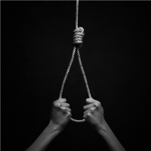 自殺,輕生,上吊,憂鬱症,遺書合成圖/達志影像