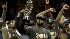 LeBron James,NBA總冠軍賽(ap)