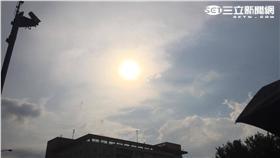 天氣,熱,夏天,太陽/記者李慈音攝