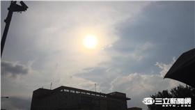 太陽,夏天,天氣/記者李慈音攝