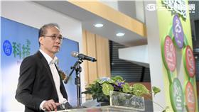 行政院長林全出席「2016台北國際食品展食安館開幕活動」。(圖/行政院提供)