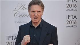 「地表最強老爸」的連恩尼遜(Liam Neeson)(圖/美聯社/達志影像)