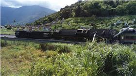 台鐵瑞穗路段有火車出軌 爆料公社
