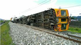 台鐵列車0622翻覆出軌(富源=光復間)