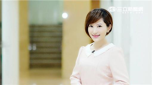 TVBS主播游皓婷遭人盜名散布不雅照後提告(翻攝畫面)