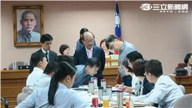 立法院司法委員會初審通過促轉條例。(圖/記者盧素梅攝)