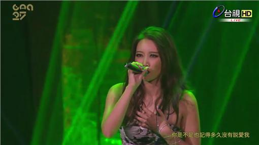 金曲表演- A-Lin -攝影直播