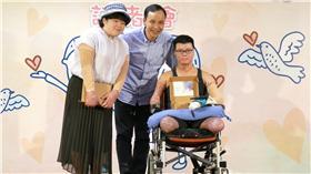 八仙,塵爆,傷患,朱立倫,復健 圖/新北市政府提供